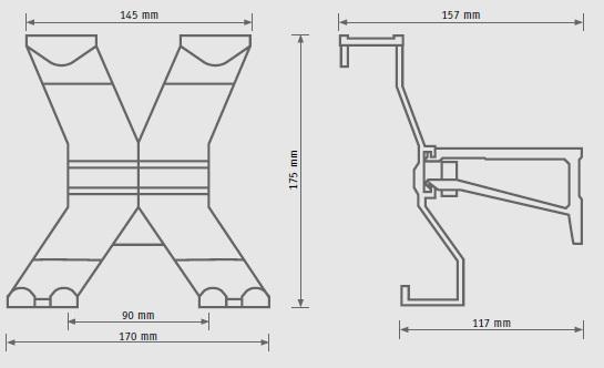 Tvirtinama pakaba iš perdirbto aliuminio, tvarus naudojimas